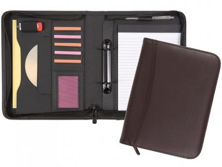 Pembury A5 Zipped Ringbinder Conference Folders