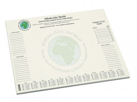 A3 Recycled Eco Desk Pads