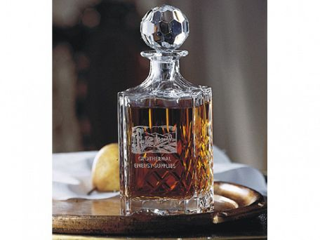 Executive Square Decanter