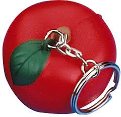 Apple Keyring Stress Toys