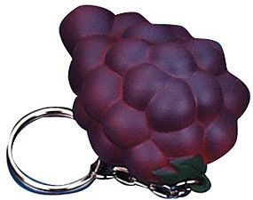 Grapes Keyring Stress Toys