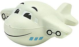Happy Aeroplane Stress Toys
