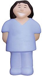 Female Nurse Stress Toys